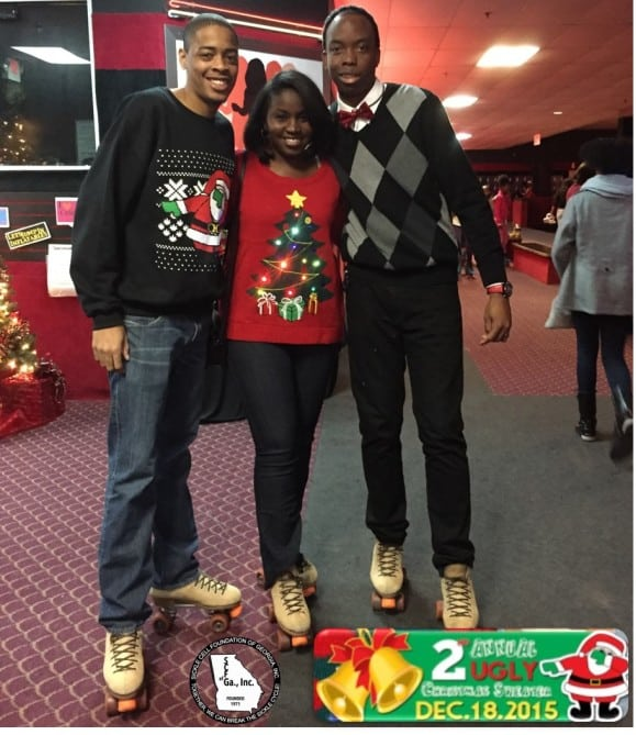 Ugly Christmas Sweater Skate Party