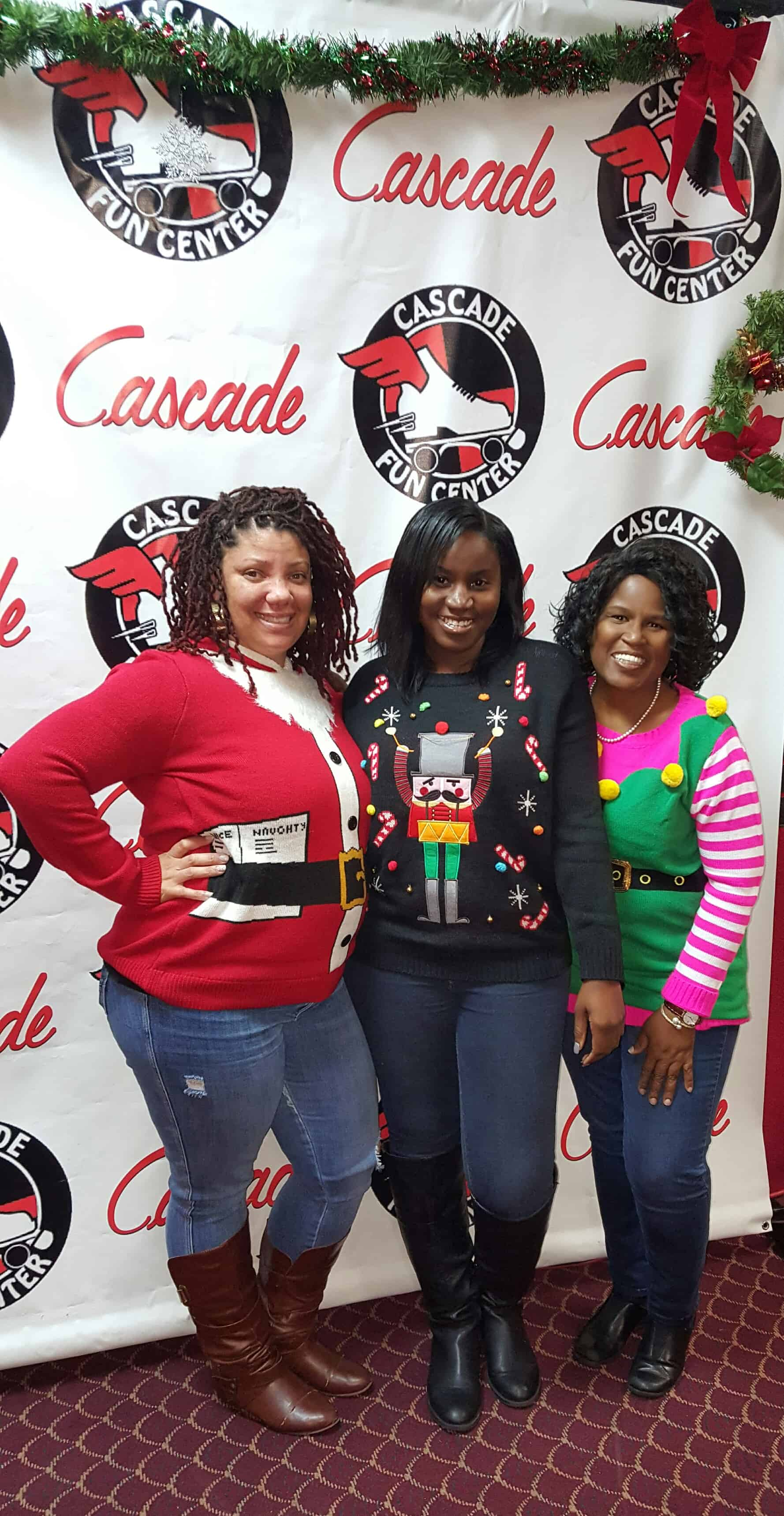 3rd Annual Ugly Sweater Sickle Cell Skate Party