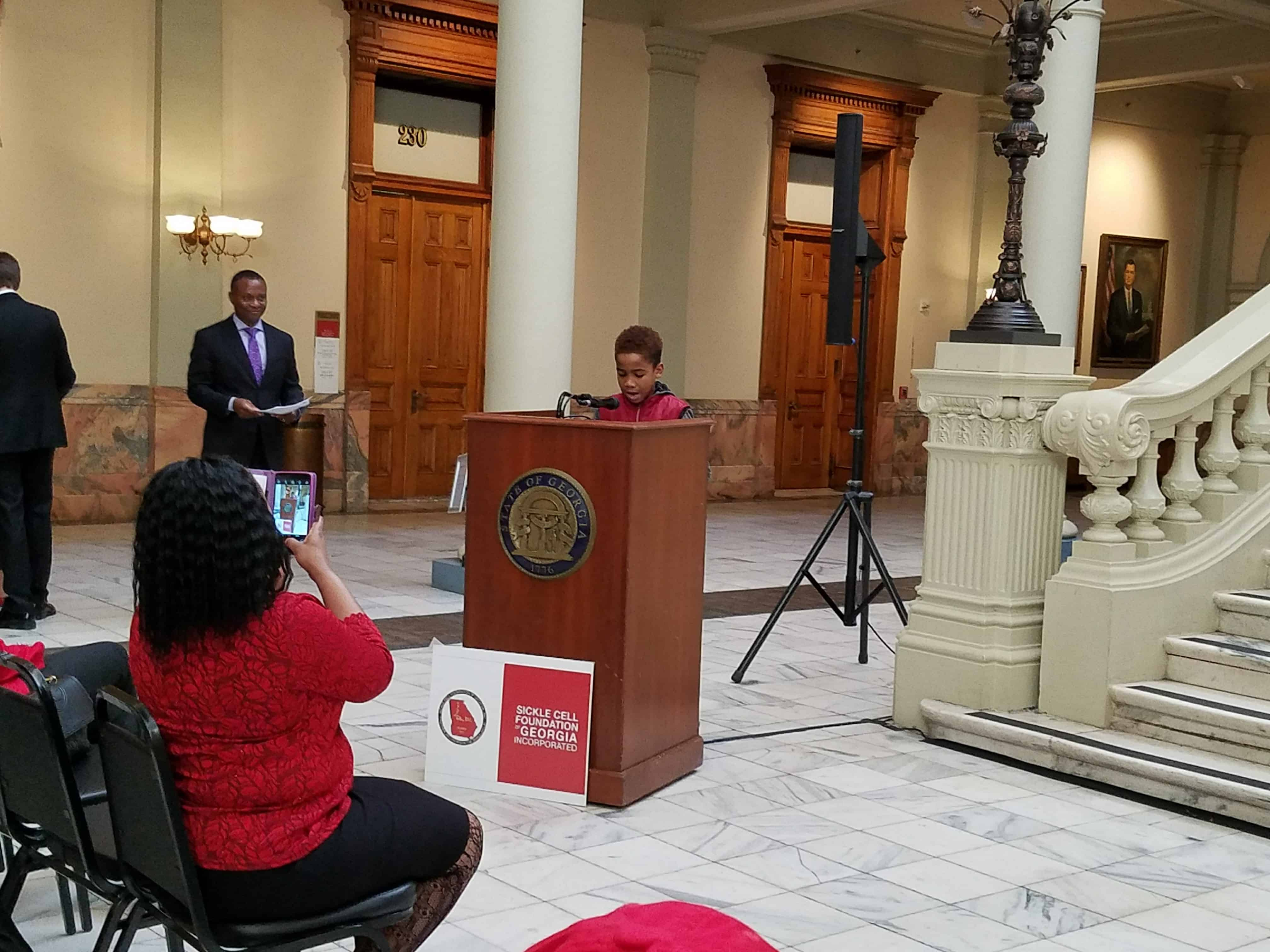 Sickle Cell Day at the Capitol – January 25, 2017